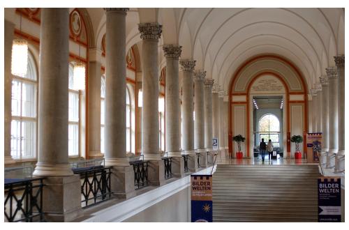 Die Bayerische Staatsbibliothek, München. Foto © Barbara Knab